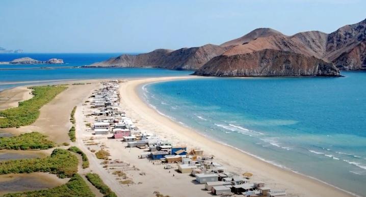 Paisaje de Playa en Baja California