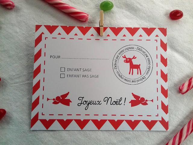 Goûter de Noël kit de décoration Tête de Coucou à imprimer