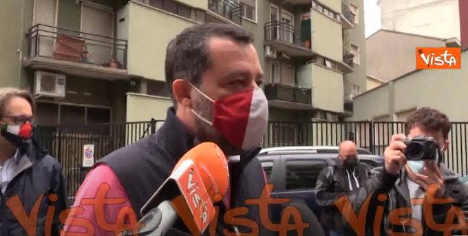 """Salvini: """"Inaccettabile proposta Pd su successioni. Per aiutare i giovani si tassino multinazionali"""""""