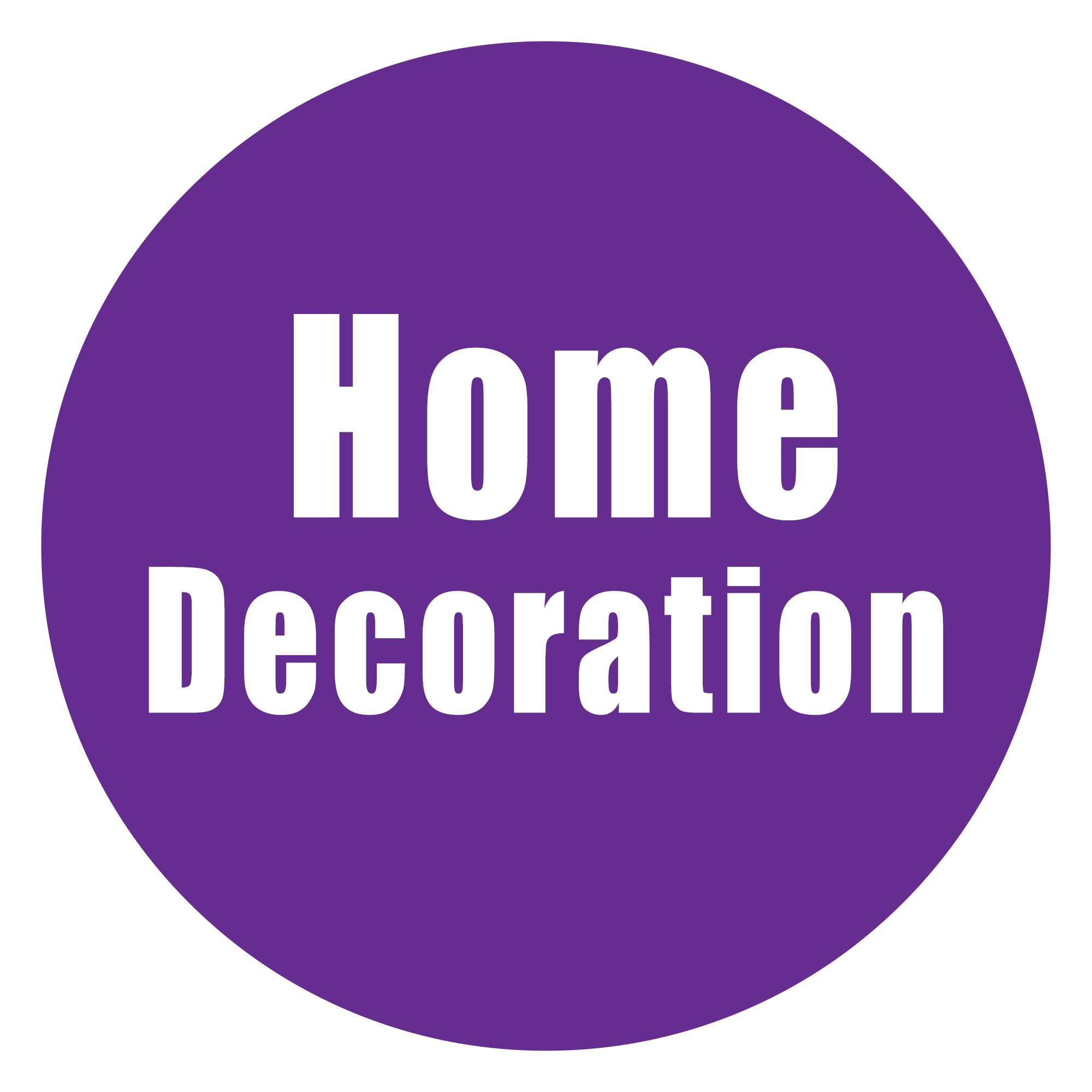 Home Decoration Vector Image PNG