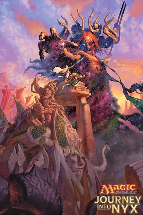 Journey Into Nyx Ajani MTG Realm: Ther...