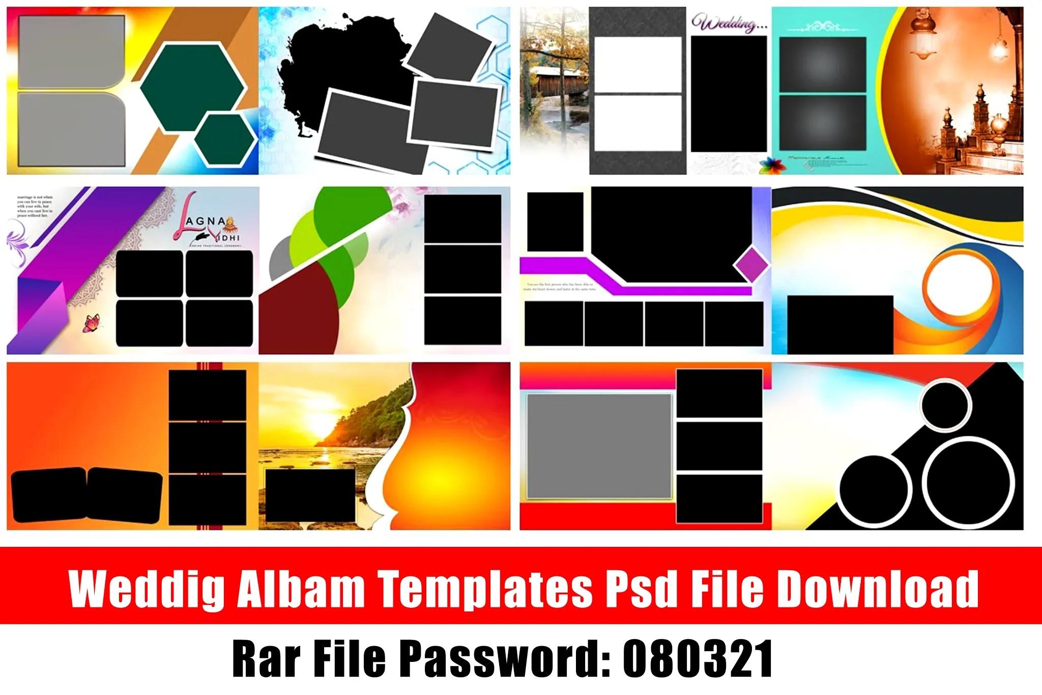 Wedding Albam Templates Psd File Free Download Kumaran Network