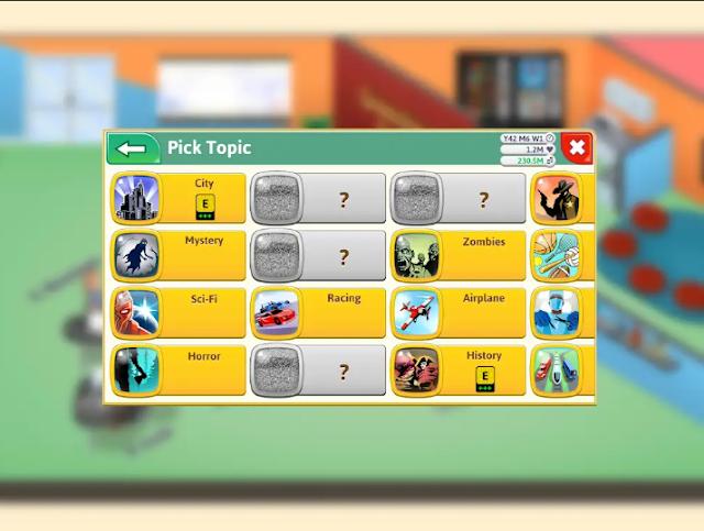 Topik tema dan genre yang bagus di game dev tycoon