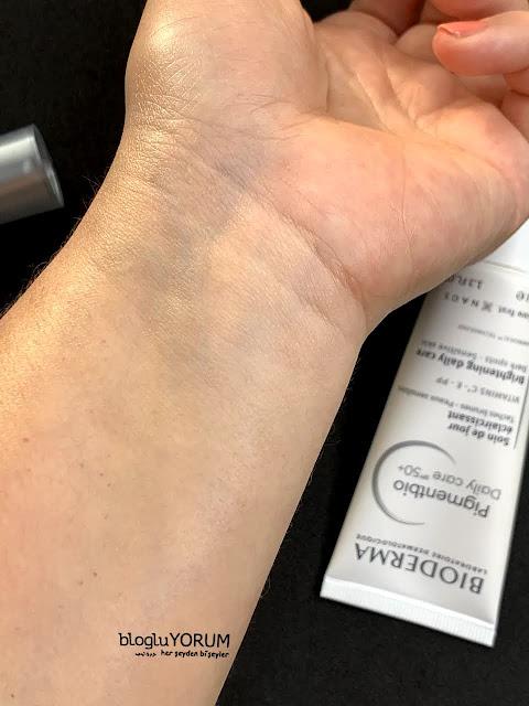 Bioderma Pigmentbio SPF 50 Daily Care Gündüz Kremi kullananlar 3