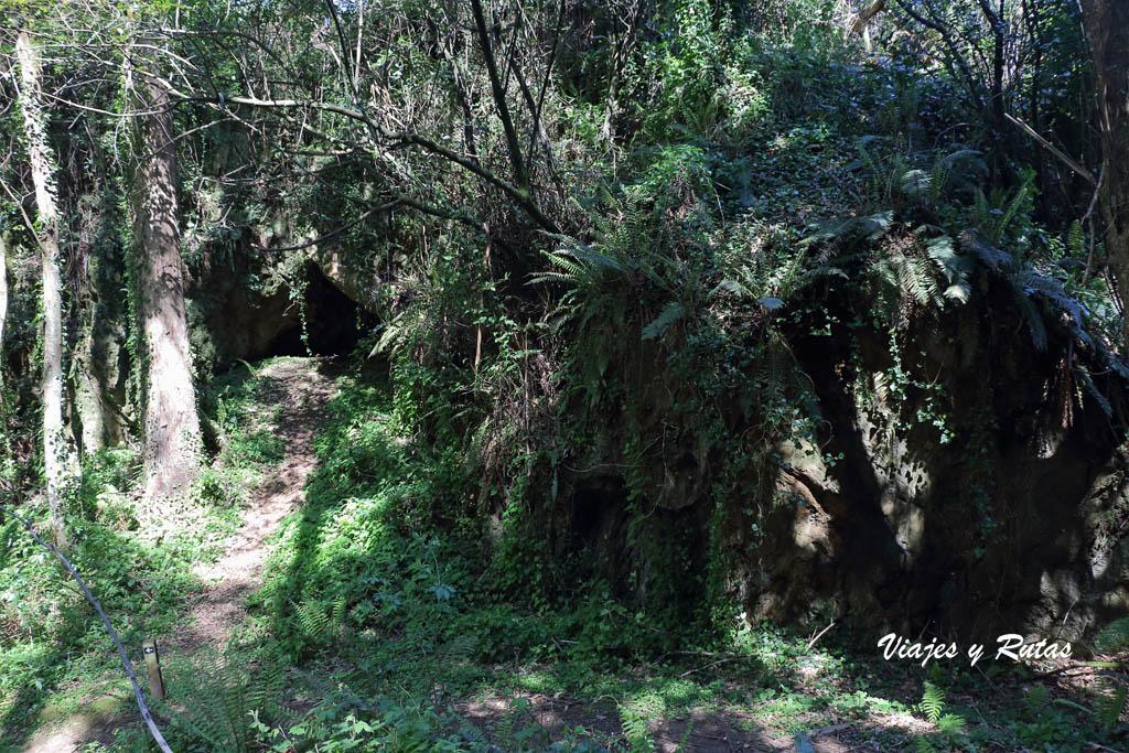 Las Cuevas de Andina, Asturias