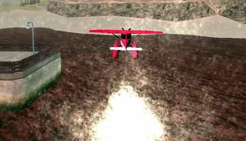 efek air pesawat