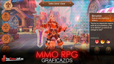 Brutal MMO RPG para Android, Descargar Tales Of Wind Gratis