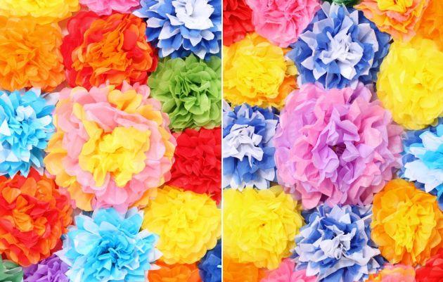 Las Manualidades Que Necesitas Como Hacer Flores De Papel De Seda