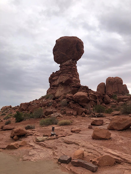 Wind eroded hoodoos are everywhere at Arches National Park (Source: Palmia Observatory)