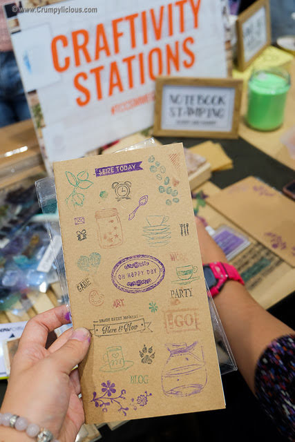 notebook stamping