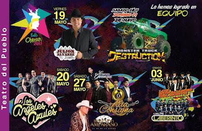 teatro del pueblo expo obregón 2017