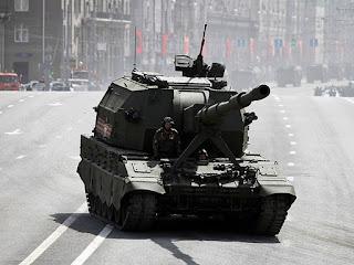 Artileri Swagerak 2S35 Koalitsiya-SV