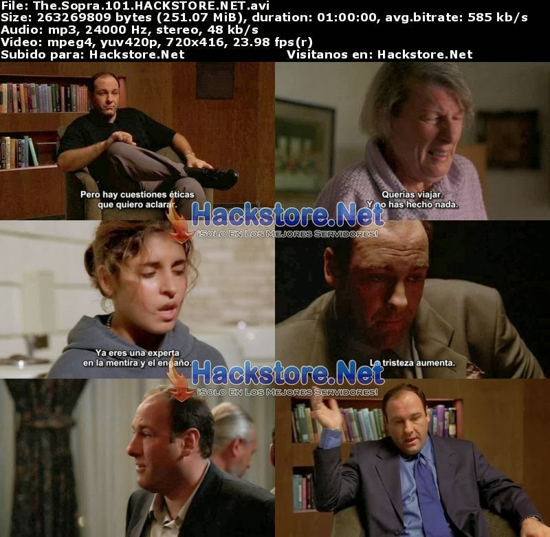 Captura The Sopranos Temporada 1 Subtitulado