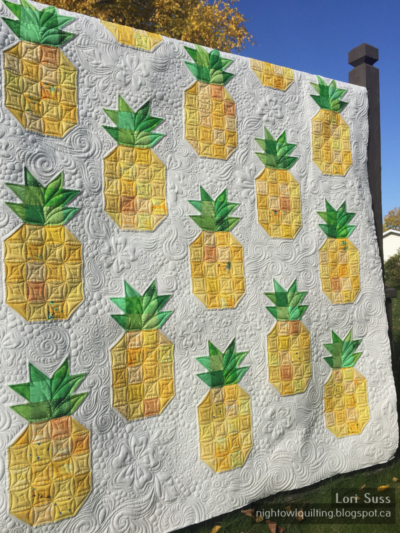 Night Owl Quilting & Dye Works: Pineapple Quilt : pineapple quilt - Adamdwight.com