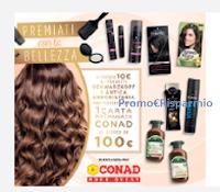Logo Concorso ''Premiati con la bellezza'' : vinci 20 buoni spesa Conad da 100€