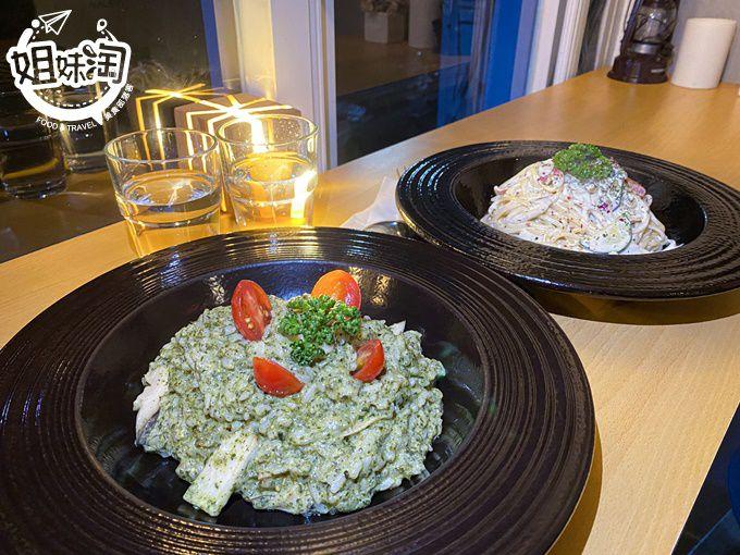 吃素也能很時尚!品嘗重口味的義大利麵及燉飯,必來拍照的素食新地標-小孩吃素