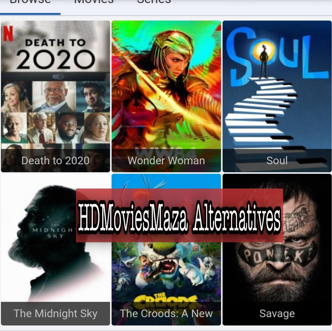 HDMoviesMaza alternatives