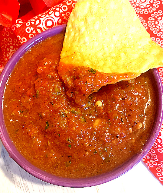 Smooth Restaurant Style salsa