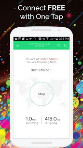 Touch VPN – Free Unlimited VPN Proxy v1.7.1 Paid APK
