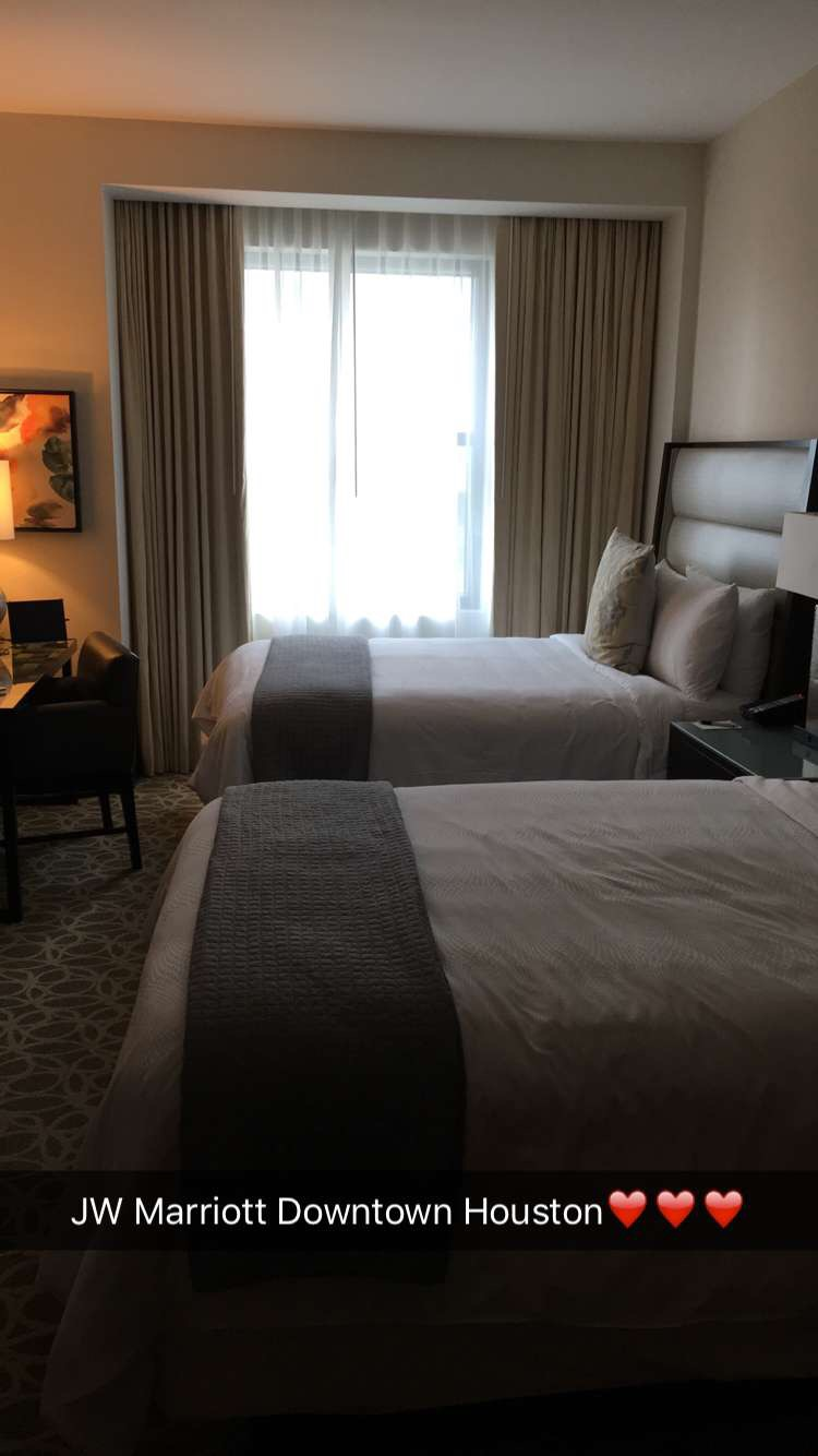 Room at JW Marriott Downtown Houston