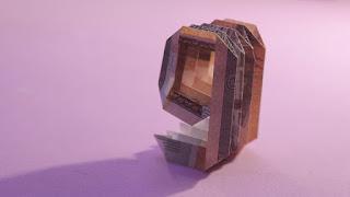 ORIGAMI MONEY 3d origami number 9 easy (Jo Nakashima) xếp giấy origami số 9 bằng tiền giấy