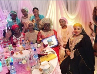 IN PICTURES: Aisha Buhari Hosts Former First Ladies, Others At Aso Villa