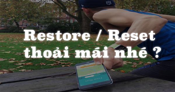Kiểm tra thông tin iPhone trước khi Restore