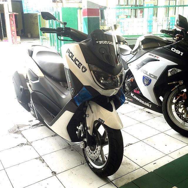 modifikasi motor yamaha nmax foto gambar46  terbaru