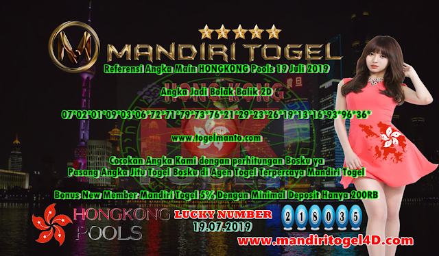 Prediksi Togel Hongkong Mandiri Togel 19 Juli 2019