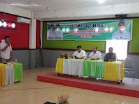 Danramil 10/Aek Kanopan Mayor Inf Tamrin Hasibuan  berikan Pembekalan Wasbang Kepada Calon Paskibra