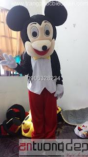 bán và cho thuê mascot chuột mickey