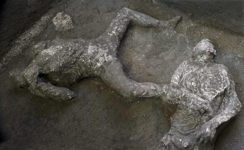 Arkeolog Menemukan Sisa-Sisa Orang yang terbunuh Oleh Vesuvius pada 2.000 tahun yang lalu
