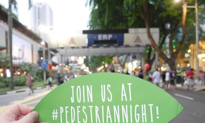 Pedestrian Night at Orchard Road: Now on till Dec 2015!