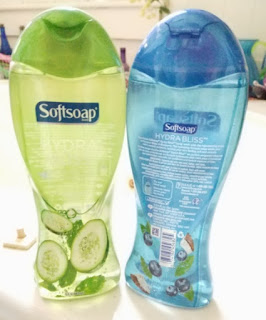 softsoap hydrabliss body washes
