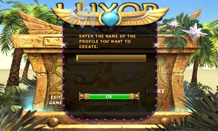 تحميل لعبة زوما الأقصر Luxor 3 للكمبيوتر مجانا بحجم صغير