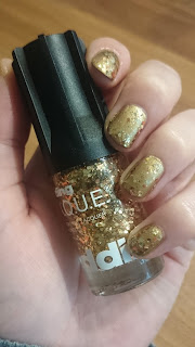 [Beauty] edding L.A.Q.U.E. heavy M.E.T.A.L.S. full metal G.O.L.D. - galactic gold & naughty nuggets
