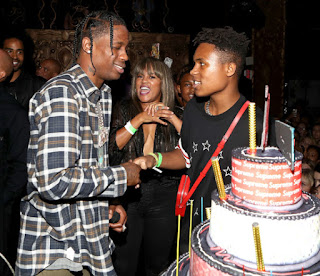 "Stevie Wonder throws ""Swaggy 16th"" birthday bash for his son, featuring concert by Travis Scott & tons of weed!"