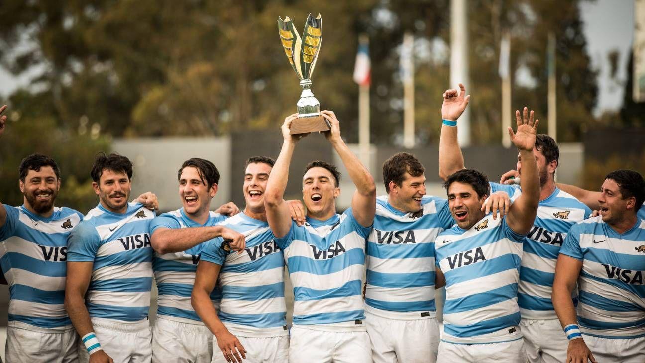 Argentina XV campeón del Sudamericano de rugby
