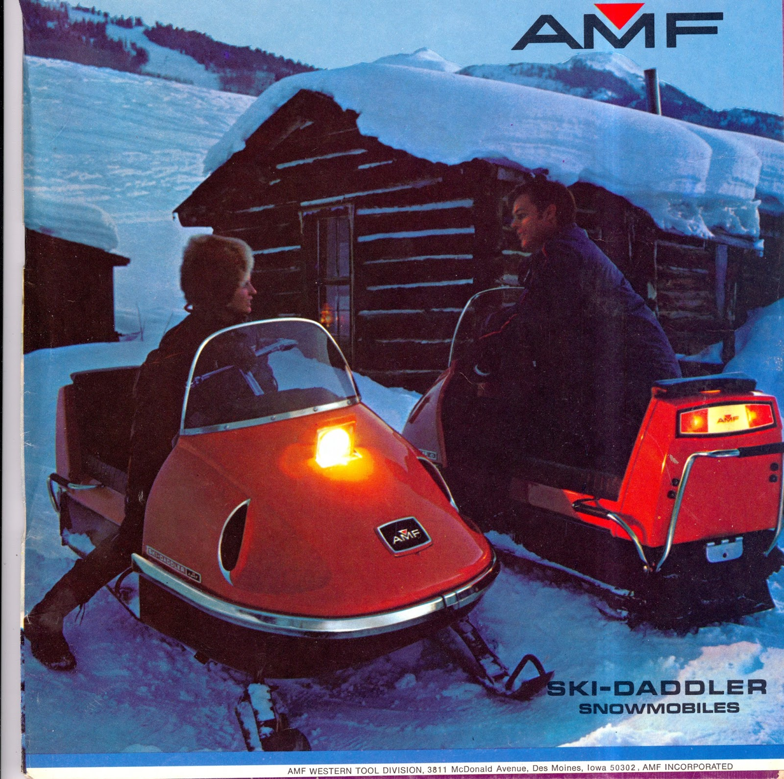 CLASSIC SNOWMOBILES OF THE PAST: 1971 AMF SKI-DADDLER ...