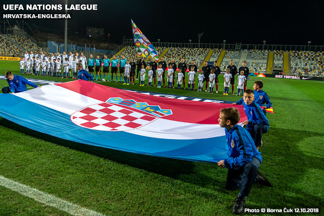 UEFA NATIONS LEAGUE @ Hrvatska-Enngleska na Rujevici