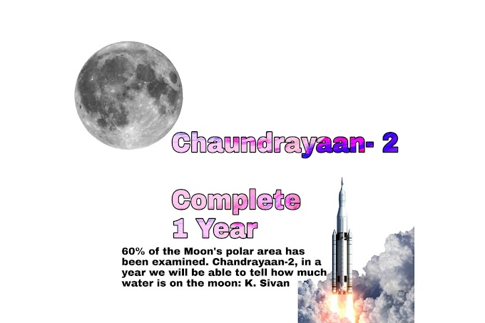 60% of the Moon's polar area has been examined. Chandrayaan-2, in a year we will be able to tell how much water is on the moon: K. Sivan