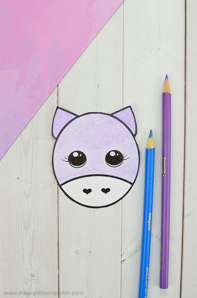 printable unicorn craft