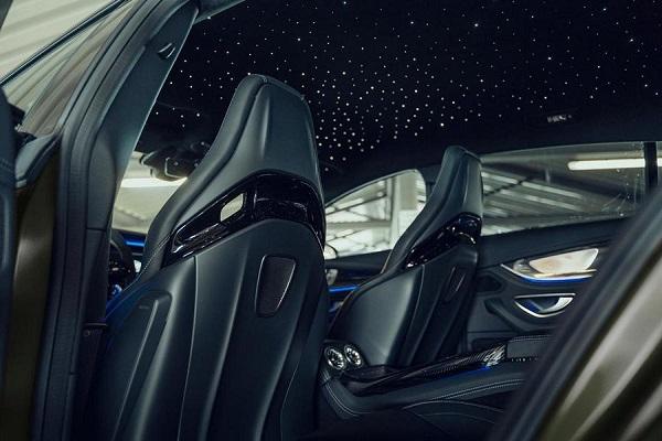 Interior Brabus y Fostla Mercedes AMG GT 63 S
