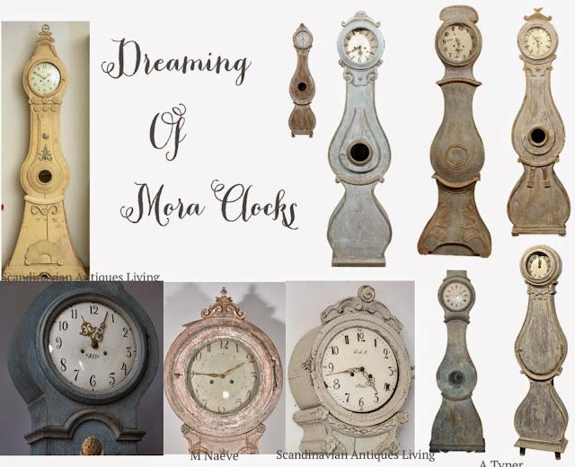 Swedish Mora clocks - Peonies & Orange Blossoms