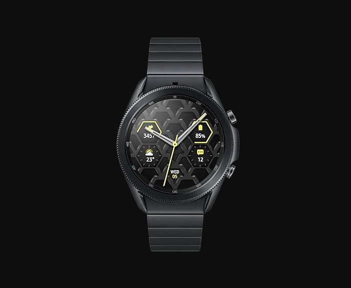 Samsung Galaxy Watch3 Titanium Smartwatch