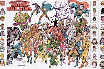 Secret Society of Super-villains, Kelompok Penjahat Super dari DC Comics