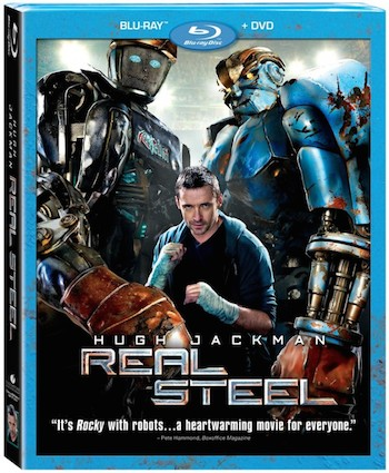 Real Steel 2011 Dual Audio [Hindi English] BRRip 480p 400MB