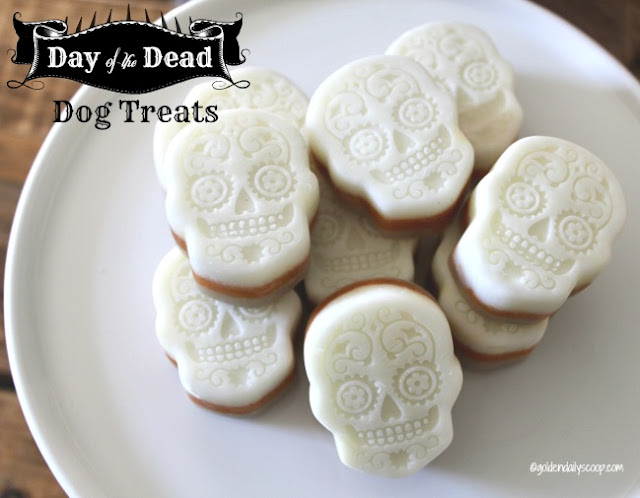 Day of the Dead Halloween dog treats