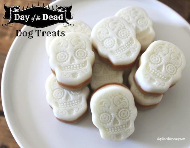 Day of the Dead Halloween dog treats