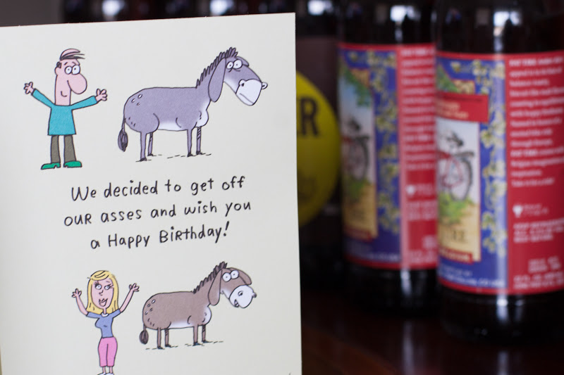 Youve Got To Love A Good Sense Of Humor Beer And Birthday Card With Play On The Word Ass Ha It Cant Get Much Sillier Or Better Than That